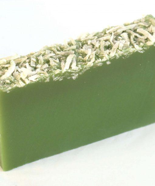 Coconut & Pine Lime Organic Soap (fresh cut slice)