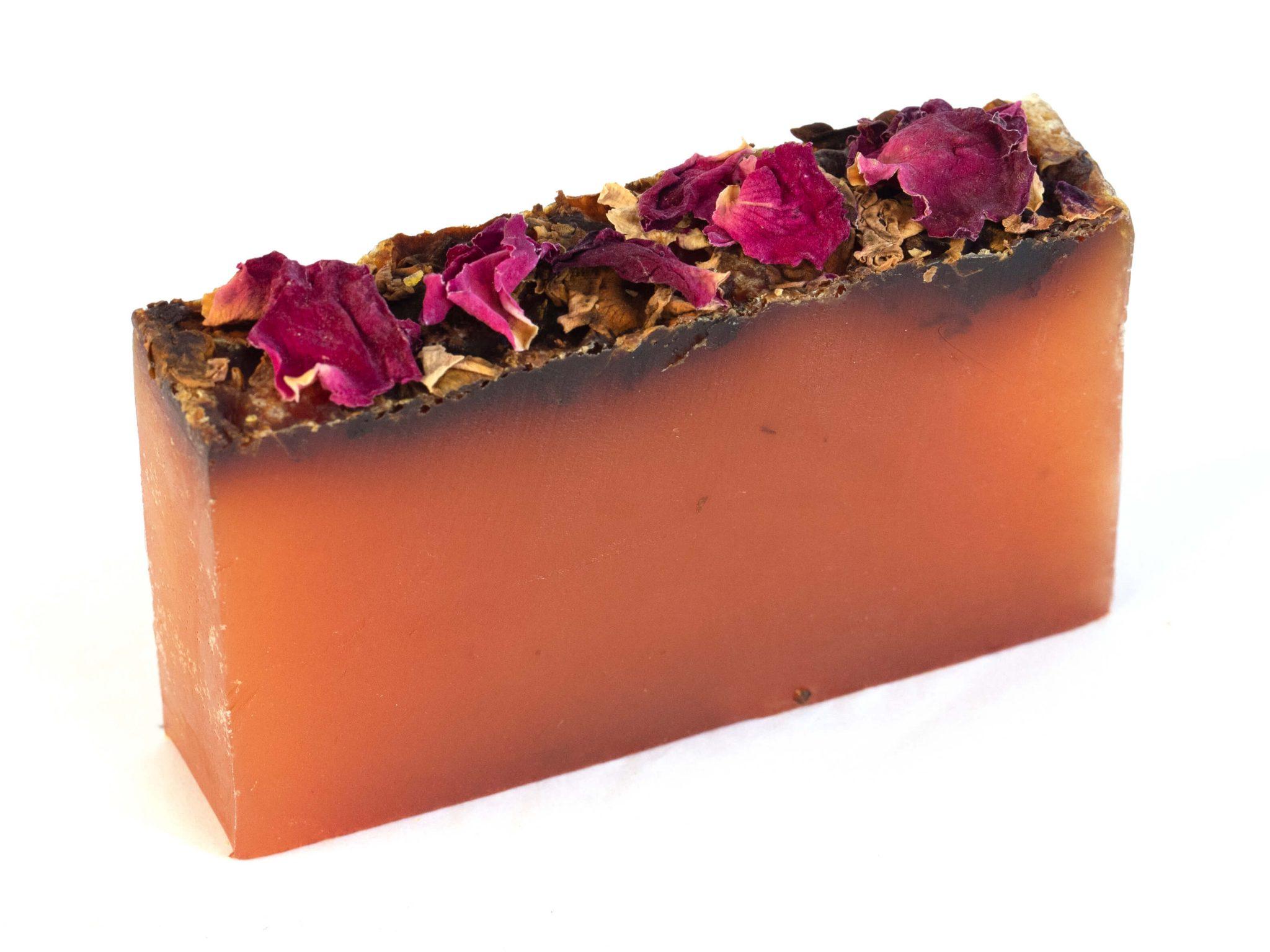 Rose Geranium Essential Oil Organic soap