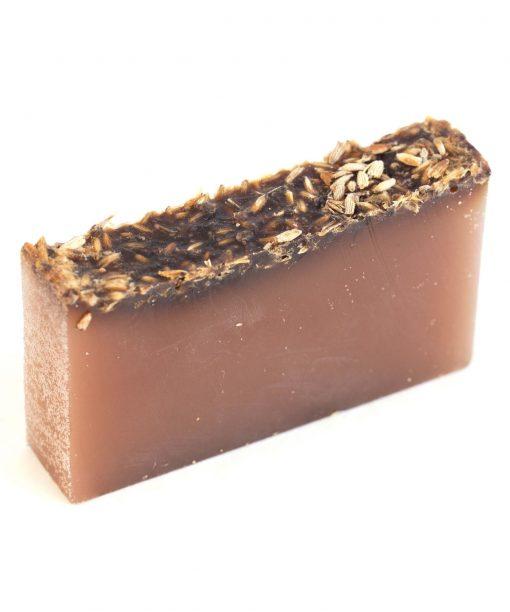 Lavender Essential Oil Organic Soap ( fresh cut slice)