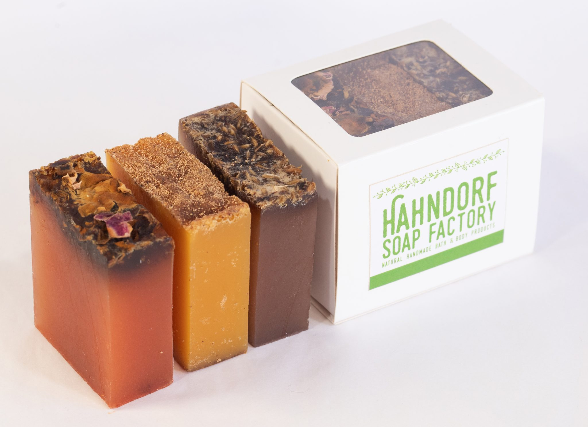 Australian essential oils – Mini Organic Soap box set