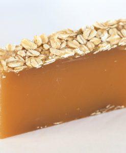 Australian Honey & Oatmeal Organic Soap (fresh cut slice)